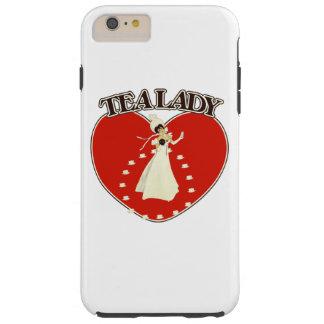 Tea Lady Tough iPhone 6 Plus Case
