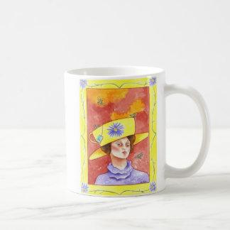 Tea Lady with Bees Coffee Mug