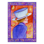 Tea Lady with Lemons Stationery Note Card