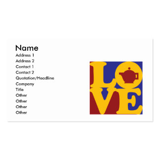 Tea Love Business Card