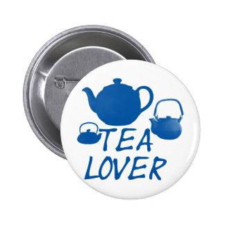 Tea Lover Cool Design Pinback Button