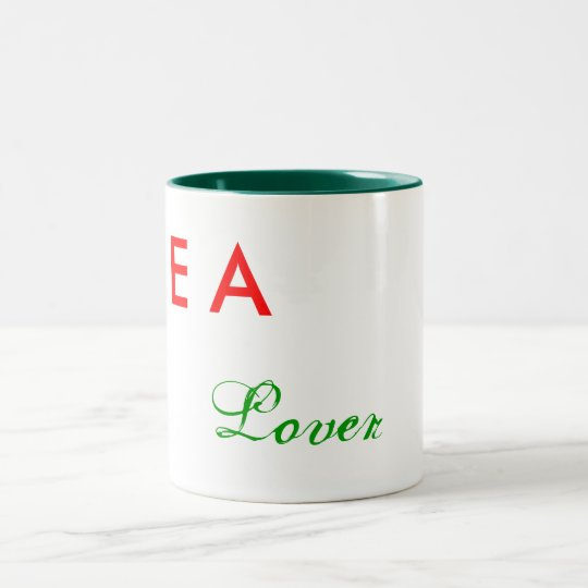 Tea Lover Two-Tone Coffee Mug