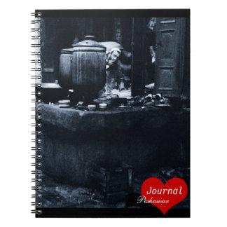 Tea Maker, Peshawar, Pakistan (Notebook) Note Book