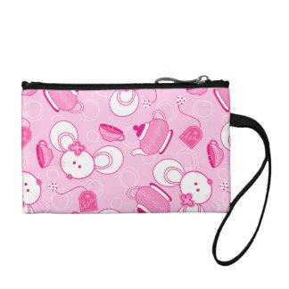 Tea mice coin purse