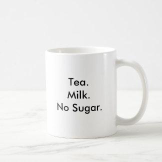 Tea.Milk.No Sugar. Coffee Mug
