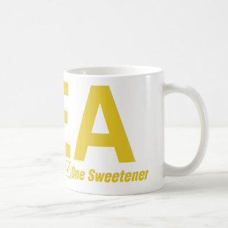 Tea, Milky, one sweetener Coffee Mug
