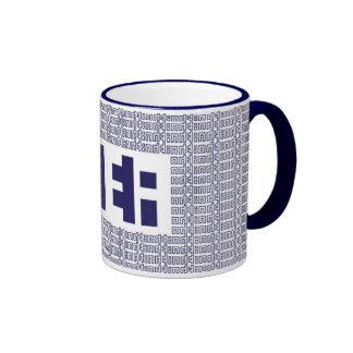 """""""TEA"""" Mug: blue"""