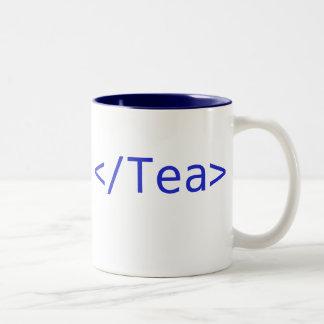 Tea Mug Blue Large