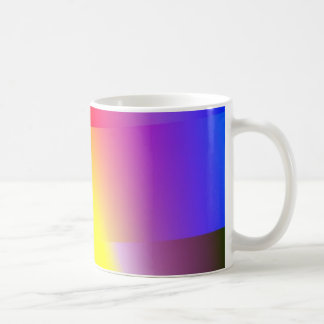 Tea Mug in Gradient Soft Color Basic White Mug