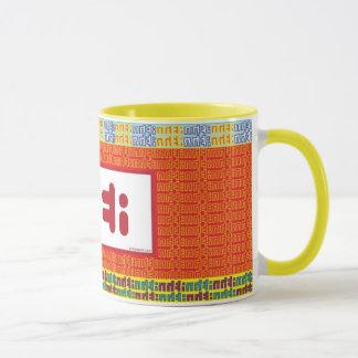 """TEA"" Mug: red Mug"
