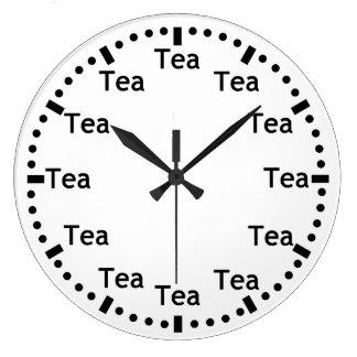 Tea O' Clock Wallclock