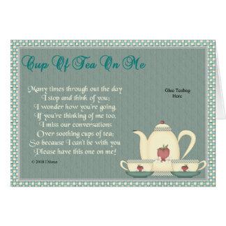 Tea on Me Card