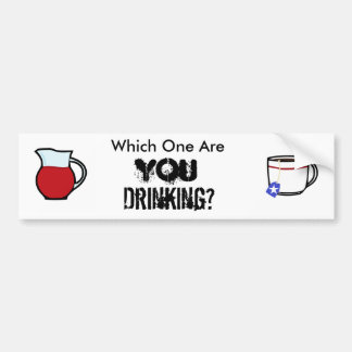 Tea or Kool Aid? Bumper Sticker