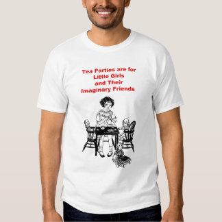 Tea Parties are For Little Girls Shirt