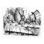 Tea Parties & Madness Postcard