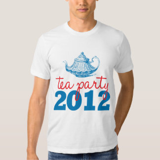 Tea Parties Republican GOP 2012 Ladies T-Shirt
