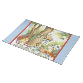 Tea Party 1 Cloth Placemat