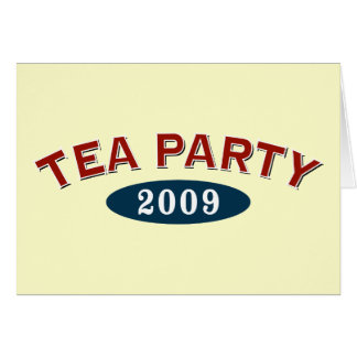 TEA Party 2009 Greeting Card
