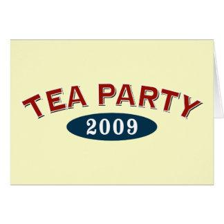 TEA Party 2009 Card