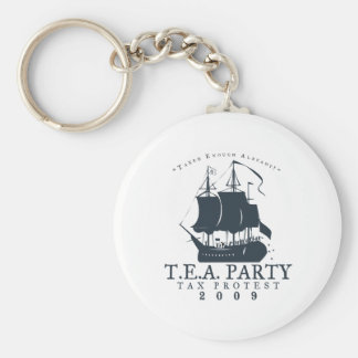 Tea Party 2009 Keychains