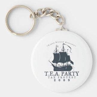 Tea Party 2009 Keychain
