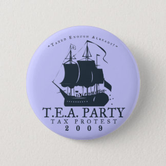Tea Party 2009 Pinback Button