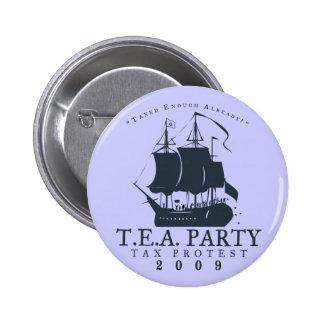Tea Party 2009 Pinback Button
