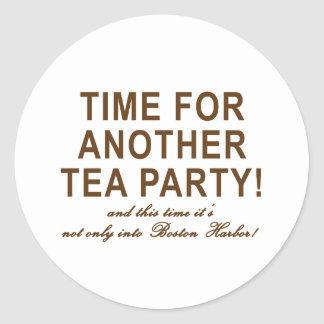 Tea Party 2009 T-Shirts, Mugs and Buttons! Sticker
