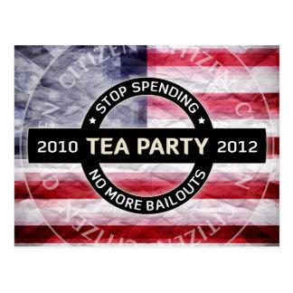 Tea Party 2010-2012 Postcard