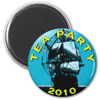 TEA Party 2010 2 Inch Round Magnet