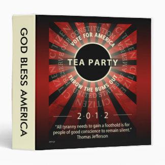 Tea Party 2012 Binder