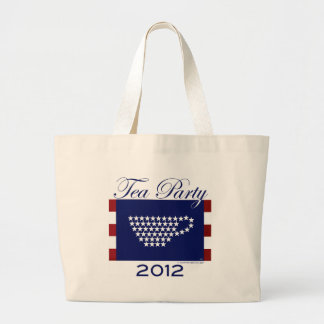 Tea Party 2012 - Cool Stuff Large Tote Bag