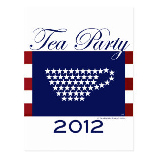 Tea Party 2012 - Cool Stuff Postcard