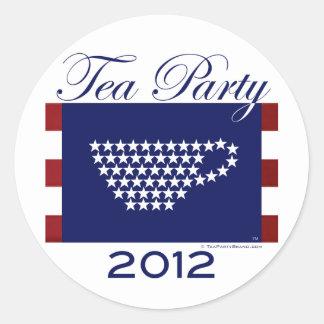 Tea Party 2012 - Cool Stuff Round Sticker
