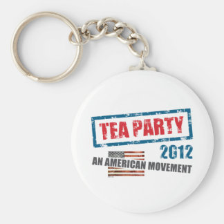 Tea Party 2012 Keychain