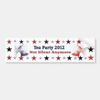 Tea Party 2012 Political Gear Bumper Sticker
