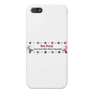 Tea Party 2012 Political Gear iPhone 5 Cases