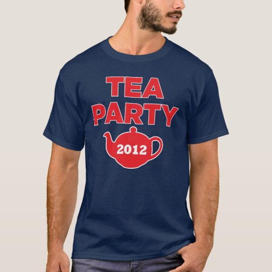 Tea Party 2012 Republican GOP T-Shirt