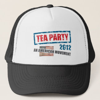 Tea Party 2012 Trucker Hat