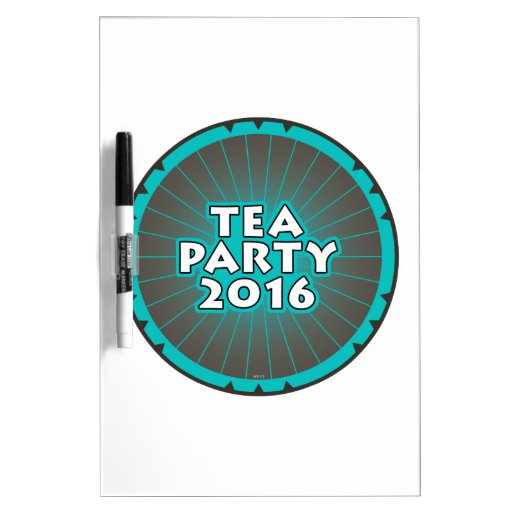 Tea Party 2016 Dry-Erase Boards