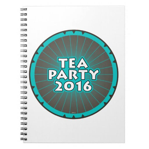 Tea Party 2016 Note Books