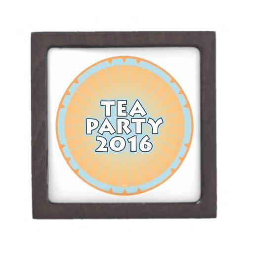 Tea Party 2016 Premium Jewelry Boxes