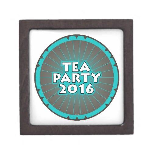 Tea Party 2016 Premium Gift Boxes