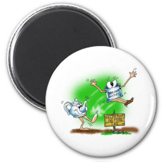 Tea Party 2 Inch Round Magnet