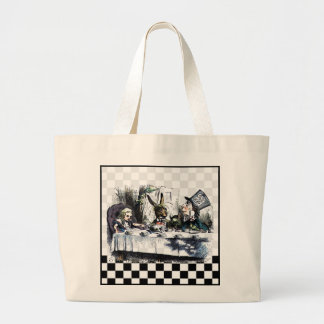 Tea Party 2 Large Tote Bag