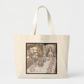 Tea Party 6 Large Tote Bag