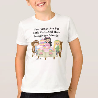 Tea Party American Kids Ringer T-Shirt