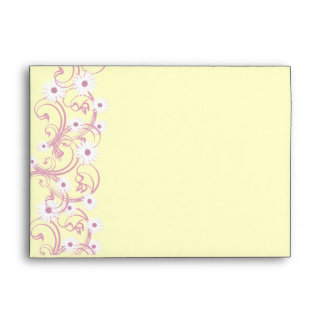Tea Party and Daisies Envelope