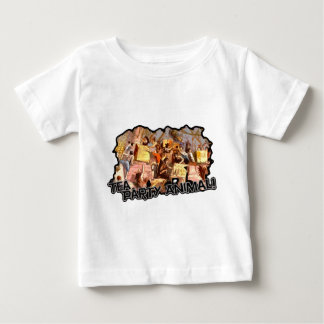 Tea Party Animal (cutout) Baby T-Shirt