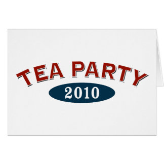 TEA Party Arc 2010 Greeting Card